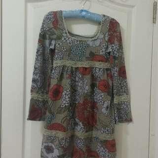 近新小洋裝也可當長版上衣