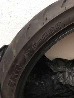 Tyre fkr size 100/80 fz y15 rs150