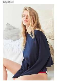 BNWT URBAN OUTFITTERS TOMMY HILFIGER CROP SWEATER