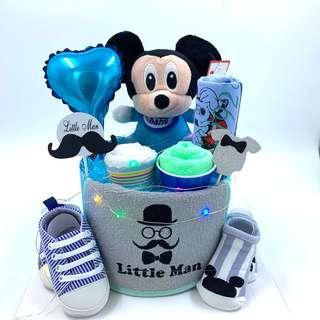 🚚 Ready stock! Micky Baby Diapers Cake