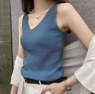 (S - L) Ladies Knitted Top #5863