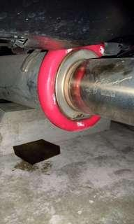 Exhaust Pipe protector diy car and mototrcycle.