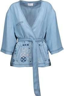 Camilla chambray wrap jacket bnwt size 8