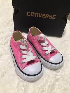 Kids Pink Converse Shoes