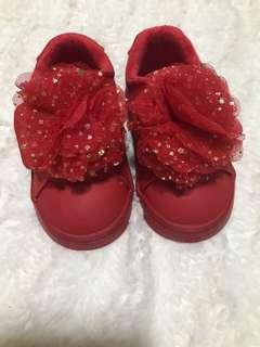 H&M red kids shoes