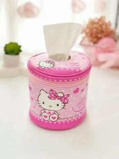 Hello Kitty Tissue Roll Case