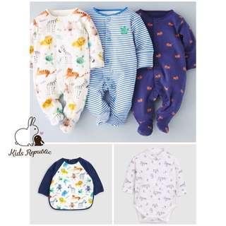 🚚 KIDS/ BABY - Sleepsuit/ Bib/ Shirtbody