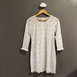 LOGG by H&M lace cover up dress