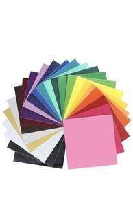 """Oracal 651 Glossy Vinyl - 24 Pack of Top Colors - 12"""" x 12"""" Sheets  Oracal 651 Glossy Vinyl - 24 Pack of Top Colors - 12"""" x 12"""" Sheets"""