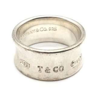 TIFFANY & CO. Sterling Silver 1837™ Ring