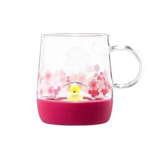 🚚 2019 Cherry blossom LED bear glass 355ml
