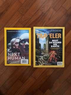 National Geographic Oct 2016 / April 2017