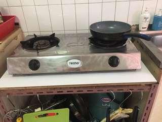 🚚 Kitchen Stove come with a gas canister