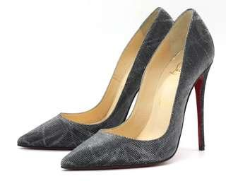 CHRISTIAN LOUBOUTIN So Kate 120 Tissu Etincelle Pumps