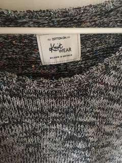 Loose knit sweater [Cotton On]