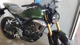 HONDA CB150R, GREEN ONLY, RANDOM VEHICLE NUMBER, IMMEDIATE COLLECTION!!!