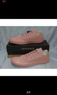 Sepatu converse all star pink rose premium