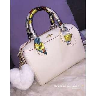 COACH Mini Bennett Satchel (Chalk White) AUTHENTIC
