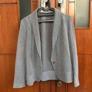 Semi blazer knit grey