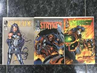 🚚 CYBERFORCE ORIGINS #1-3