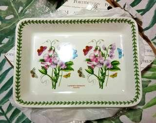 Authentic Portmeirion botanic garden rectangular lasagna dish
