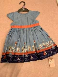 Baby Dress 6-9mo mothercare