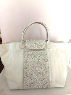 Genuine Leather Florq Hand Painted Bag