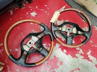 Japan daihatsu walnut steering wheel replacement for perodua kenari kelisa kembara