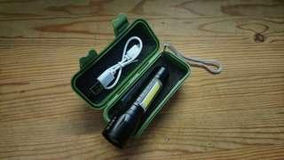 LED usb充電 電筒