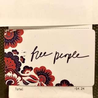 🌸Free People Gift Card