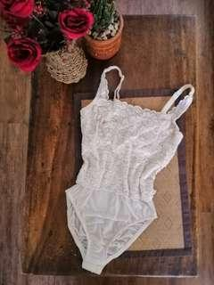 Branded Lace Bodysuit