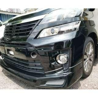 New Recond Toyota Vellfire 2.4 Golden Eyes II Admiration High Loan