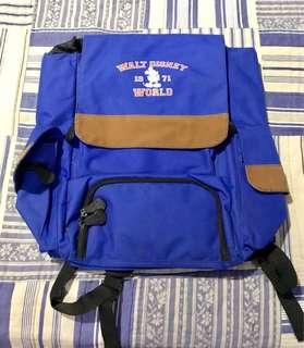 Authentic Walt Disney World Blue Backpack