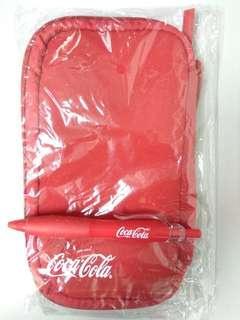 Coca cola X TC Digial Pouch &. Coke pen