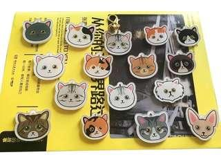 🚚 Cat ID tag with customised portraits