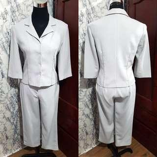 Preloved Branded Formal Terno Suit