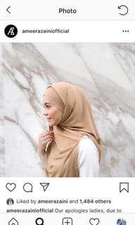 Ameera zaini sarah tie back scarf