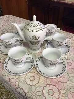 BN HENDRICK'S GIN coffee/tea cup set
