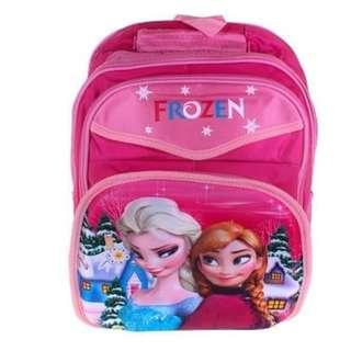 Embose Material Disney Frozen Backpack