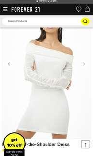 BNWT Forever21 Ruched Dress SIZE S