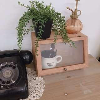 🚚 生活雜貨-鄉村zakka桌面收納盒 置物盒