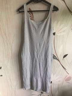 Midi dress bershka