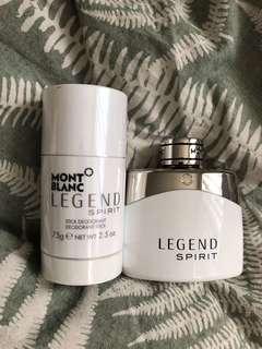 Mont Blanc Eau de Toilette and Deodorant