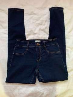 Cotton On Dark Denim Jeans