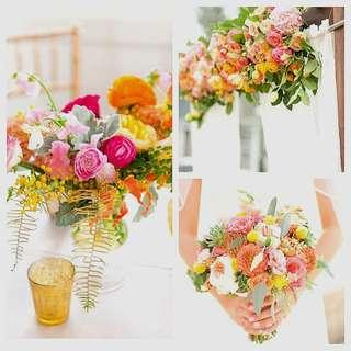 Wedding package - fresh flowers