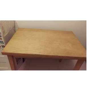 Ikea 實木摺餐檯