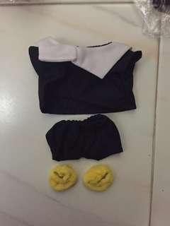 Exo Doll Clothes Uniform for 20cm Dolls