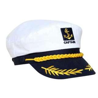 Ship Sailor Nautical Hat White