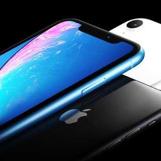 1年Apple保養!! 全新 Apple iPhone XR 128 GB 黑色