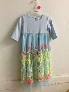 Lara Alana Tutu Dress Pastel Blue
